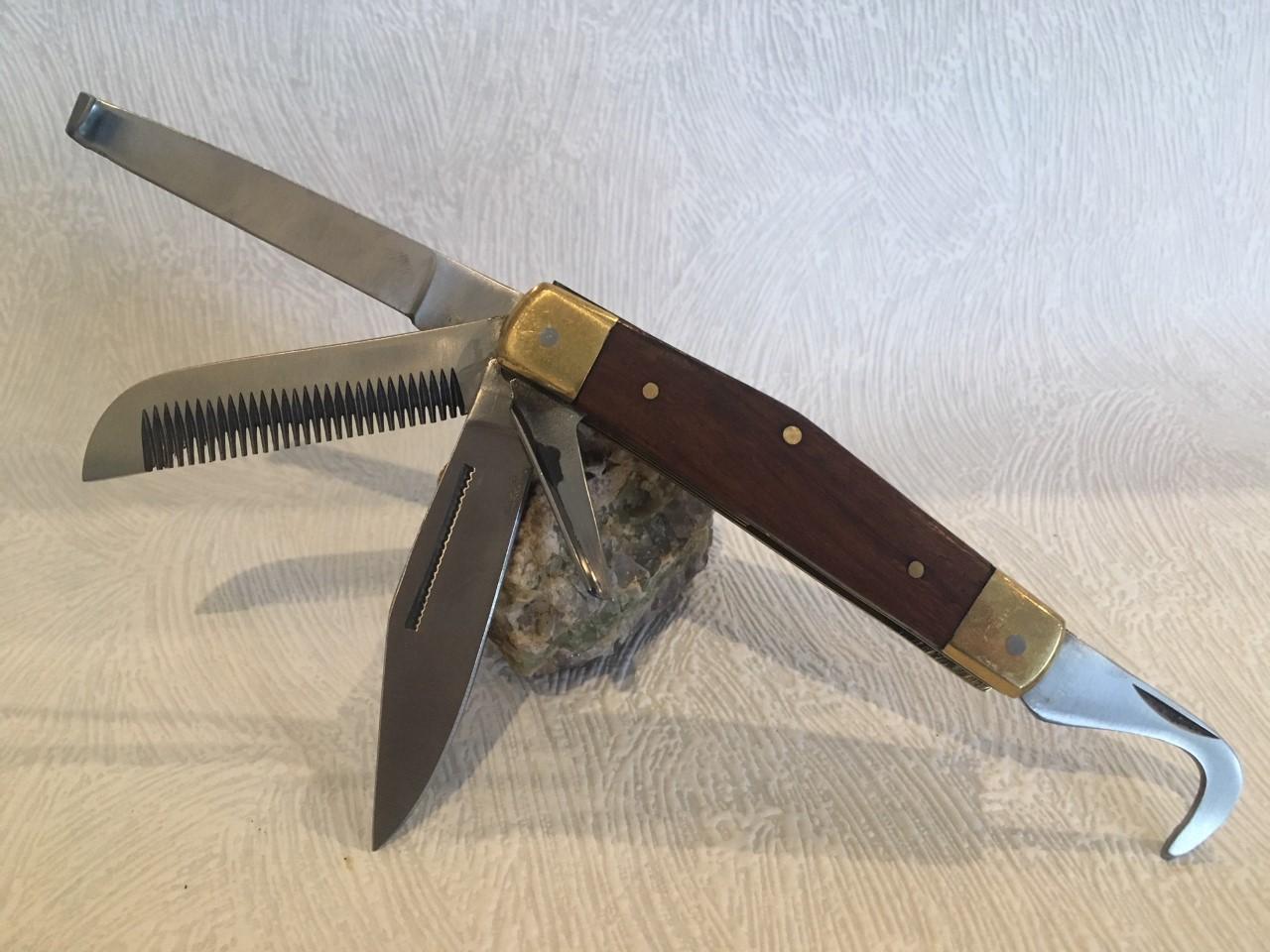 Couteaux de poche Cavalier 5 lames
